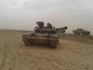 'Hổ Syria' chủ công khép chặt vòng vây, dồn dập đánh IS tại Homs (video)