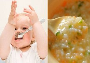 Thời điểm 'vàng' mẹ cho con tập ăn thô để giúp trẻ nhanh biết nhai cơm