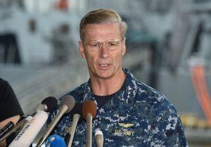 Mỹ sa thải chỉ huy Hạm đội 7 sau vụ đâm tàu