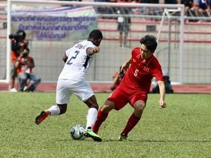 U22 Việt Nam - U22 Thái Lan 0-0: Bóng đập xà ngang