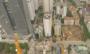 Áp lực lên hạ tầng từ chung cư trong ngõ hẹp ở Hà Nội
