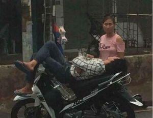 Chỉ vì giận hờn mà người chồng dựng xe ngủ ngay giữa đường quốc lộ mặc cho vợ khuyên giải