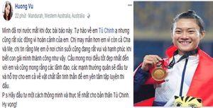 Cựu 'nữ hoàng điền kinh' Vũ Thị Hương rơi nước mắt vì Tú Chinh