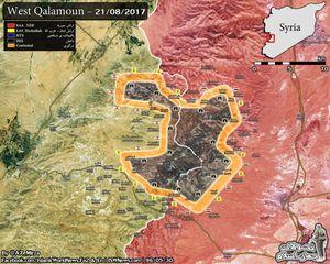 Quân đội Syria, Hezbollah sắp quét sạch IS khỏi biên giới (video)