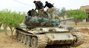 Quân đội Syria tấn công lớn đánh phiến quân cố thủ ven Damascus (video)