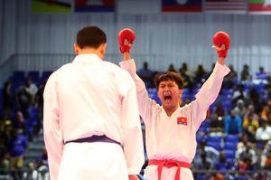 Karatedo Việt Nam giành HCV nội dung đồng đội nam