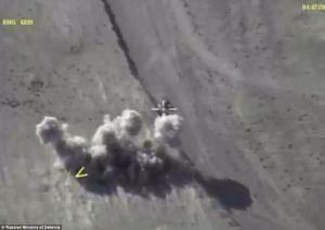Nga công bố video nghẹt thở tiêu diệt 200 tay súng IS