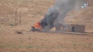 IS bắn cháy xe tăng Syria, phiến quân điên cuồng tử chiến (video)