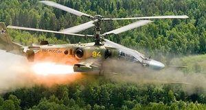 Trực thăng Nga bắn nhầm vào khán giả xem tập trận?