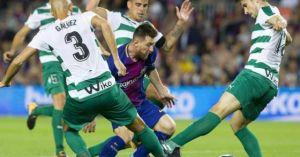 Barcelona - Eibar: 'Siêu nhân' bắn phá kinh hoàng