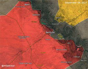 Quân đội Syria ào ạt đánh tràn qua Euphrates diệt IS, uy hiếp liên minh Mỹ-Kurd