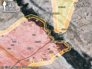 'Hổ Syria' nghiền nát IS, ồ ạt đánh chiếm 4 cứ địa tại Deir Ezzor (video)