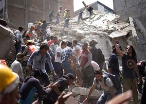 Chủ tịch nước gửi điện thăm hỏi Mexico sau trận động đất