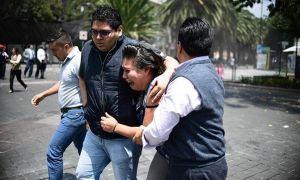 Động đất cực mạnh 7,4 độ richter tiếp tục rung chuyển Mexico