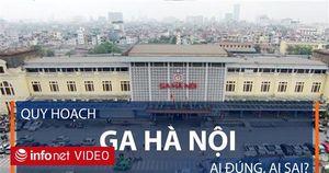 Tranh cãi về Quy hoạch Ga Hà Nội