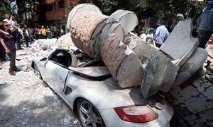 Động đất đánh sập hàng loạt tòa nhà ở Mexico, hơn 104 người chết