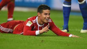 Highlights James Rodriguez tỏa sáng giúp Bayern đánh bại Schalke
