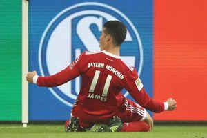James Rodriguez ghi bàn đầu tiên trong màu áo Bayern