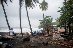 Các đảo Caribe tơi tả trong siêu bão Maria