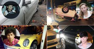 Cách ứng xử của sao Việt khi xảy ra tai nạn giao thông