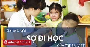 Tại sao trẻ em Việt Nam lại sợ đi học