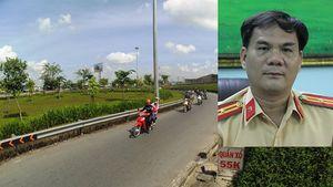 CSGT Phú Lâm: 'Dừng phương tiện nhưng chưa lập biên bản đường cong dưới dạ cầu QL1'