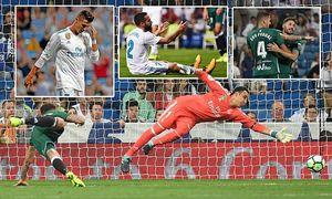 Real Madrid mang lời nguyền ở Bernabeu, bị Barca bỏ xa