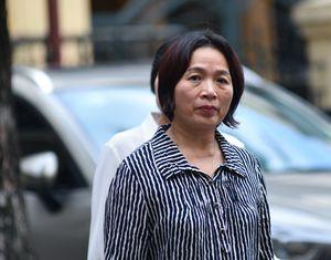 Vợ bị cáo Nguyễn Xuân Sơn giải trình tài sản tại tòa