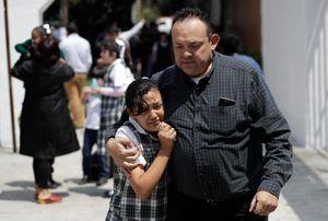 Ngày tang thương của ngôi trường ở Mexico