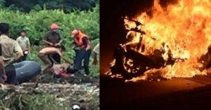 Clip hot tổng hợp: Thấy thi thể nữ sinh trôi cống, Airblade đang chạy cháy trơ khung