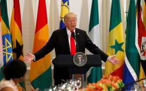 Ông Trump liên tục khen một đất nước không hề tồn tại