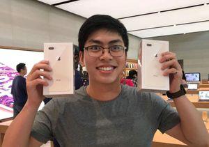 iPhone 8 lên kệ ngày đầu ở Singapore: Không còn chen lấn