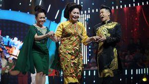 VIDEO: NSND Hồng Vân 'đẹp như Phạm Hương' khoe giọng hát tại 'Bước nhảy ngàn cân'
