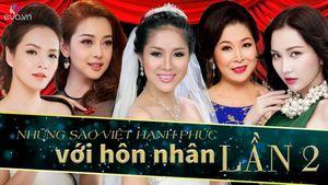 """Điểm tên những """"gái hai lần đò"""" trong Showbiz Việt"""