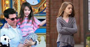 Katie Holmes 'mệt mỏi và thất vọng' vì sự vắng mặt của Tom Cruise trong cuộc sống của Suri