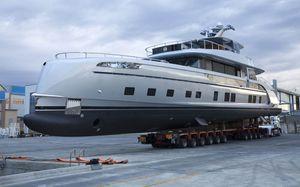 Hạ thủy siêu du thuyền 'Porsche' Dynamiq GTT 115 giá 377 tỉ đồng