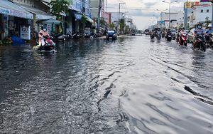 Triều cường dâng cao gây ngập nhiều nơi ở ĐBSCL