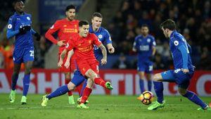 Leicester 2-3 Liverpool: Vardy đá hỏng phạt đền (H2)