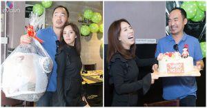 Tự nhận không phải soái ca, Tiến Luật vẫn tổ chức sinh nhật cho vợ đầy ngọt ngào