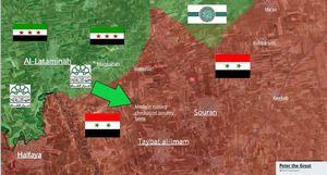 Phiến quân Syria phản kích ở Hama, thành con mồi trong cuộc săn của Nga