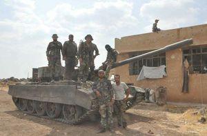 Lính Nga cứu binh sĩ Syria trên tuyến lửa (video)