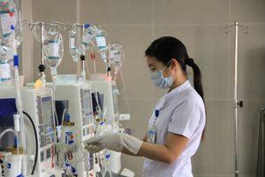 Nước chạy thận tại hơn 3/4 số bệnh viện không đảm bảo