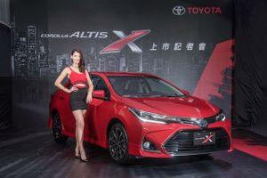Chi tiết Toyota Corolla Altis X 2017 vừa trình làng