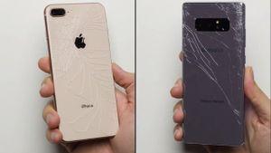 iPhone 8 Plus và Galaxy Note 8: Siêu phẩm nào bền hơn?