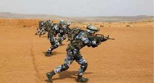 Trung Quốc tập trận bắn đạn thật ở căn cứ châu Phi
