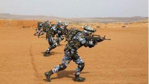 Trung Quốc lần đầu bắn đạn thật ở căn cứ hải ngoại