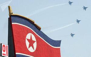 Chiến đấu cơ Triều Tiên vào vị trí sẵn sàng chiến đấu