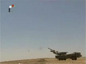 Phòng không Syria phóng tên lửa diệt máy bay Israel