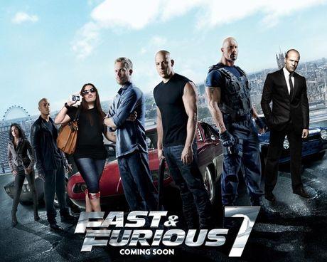 "Nghet tho voi canh dua xe an tuong cua ""Fast & Furious 7"" - Anh 1"
