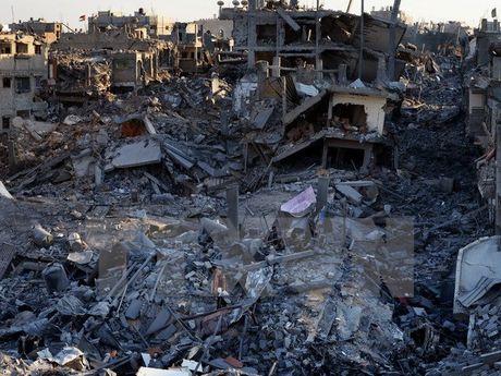 Qatar bat dau chuong trinh khoi phuc 1.000 can nha tai Dai Gaza - Anh 1